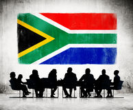 African Business People Having a Meeting Royalty Free Stock Images