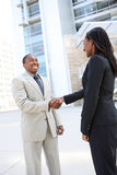 African Business Team Handshake Royalty Free Stock Photos