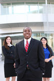 African Business Team at Office Stock Image