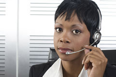 African Business Woman closeup stock photos