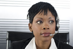 African Business Woman closeup stock images