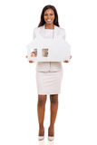 African business woman Royalty Free Stock Photo