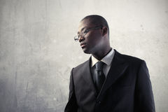 African businessman Royalty Free Stock Photos