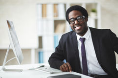 African businessman Royalty Free Stock Image