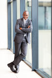 African businessman full length Royalty Free Stock Photography
