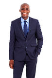 African businessman isolated Royalty Free Stock Photography