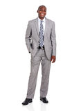 African businessman looking Stock Photography