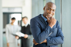 African businessman office Stock Photos