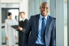 African businessman portrait Royalty Free Stock Image