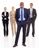 African businessman team Stock Image