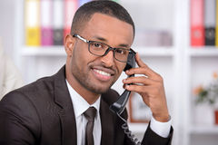 African Businessman Royalty Free Stock Photo