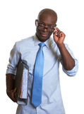 African businessman at work Stock Photo