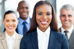 African businesswoman colleagues Royalty Free Stock Photography
