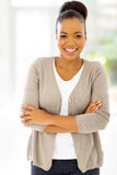 African businesswoman looking Stock Photo