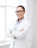African businesswoman in office Royalty Free Stock Photography