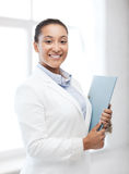 African businesswoman in office Stock Photos