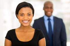 African businesswoman portrait Royalty Free Stock Photo