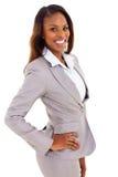 African businesswoman portrait Stock Photo