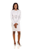 African businesswoman suit Stock Photo