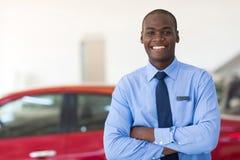 African car dealership Stock Photography