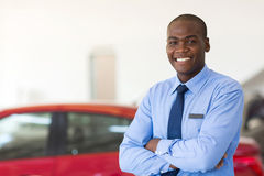 African car sales stock photo
