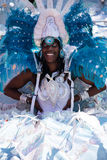 African carnival queen Royalty Free Stock Photos
