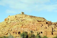 African castle - Kasbah, Ksar of Ait Ben Haddou.  Stock Images