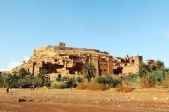 African castle - Kasbah, Ksar of Ait Ben Haddou.  Royalty Free Stock Photo