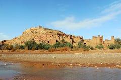 African castle - Kasbah, Ksar of Ait Ben Haddou.  Stock Image