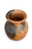 African ceramic water pot Stock Photos