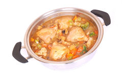 African chicken stew Royalty Free Stock Photos
