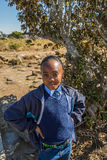 African child girl portrait Royalty Free Stock Image