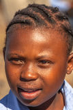 African child girl portrait Stock Photography