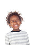 African child putting mean face Stock Photography