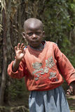 African child in Rwanda Stock Photo