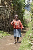African child in a Rwanda village Royalty Free Stock Photography