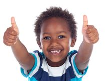 Free African Child Saying Ok Stock Images - 119807504