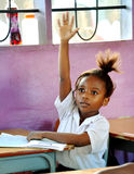 African Child in School Royalty Free Stock Photo