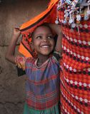 African child in slum Royalty Free Stock Photography