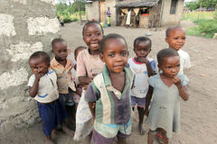 African children. A group of African children in Kenya stock images