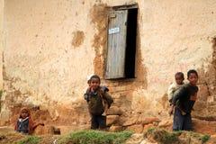 African village children  Stock Image