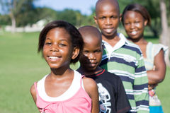 African children. Group of happy african children Stock Photography