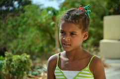 African Children. Cape verdean creole kid in africa Stock Photography