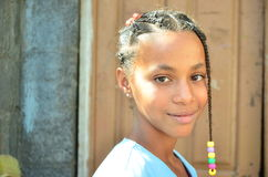 African Children. Cape verdean creole kid in africa Stock Photos