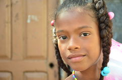 African Children. Cape verdean creole kid in africa Stock Image