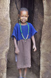 African children from Masai tribe Stock Photography