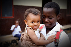 African children at Orphanage Royalty Free Stock Photos