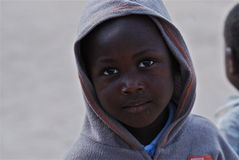 African children. Portrait of an African child Stock Photography