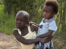 African children in Rwanda Royalty Free Stock Photos