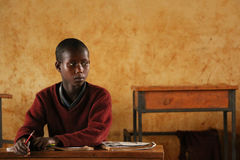 African Children at School, Tanzania Royalty Free Stock Images